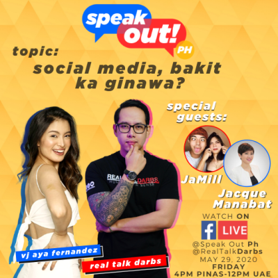 SOCIAL MEDIA BAKIT KA GINAWA? SPEAK OUT EPISODE