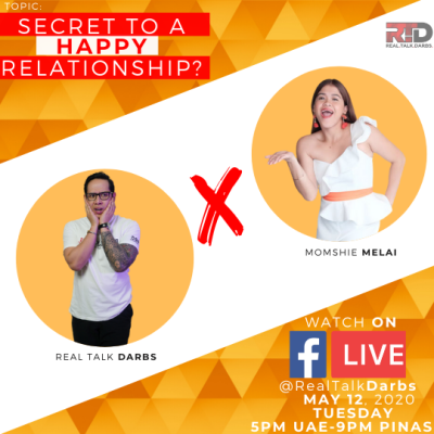 SECRET TO A HAPPY RELATIONSHIP with momshie Melai Cantiveros