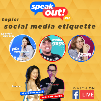 SOCIAL MEDIA ETIQUETTE- Speak episode 2 with special guests, Pia Wurtzback, Makagago, Jzan
