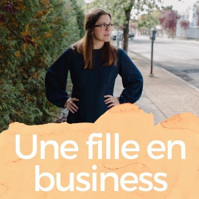 Une fille en business