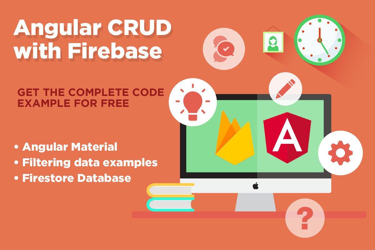 Angular CRUD with Firebase