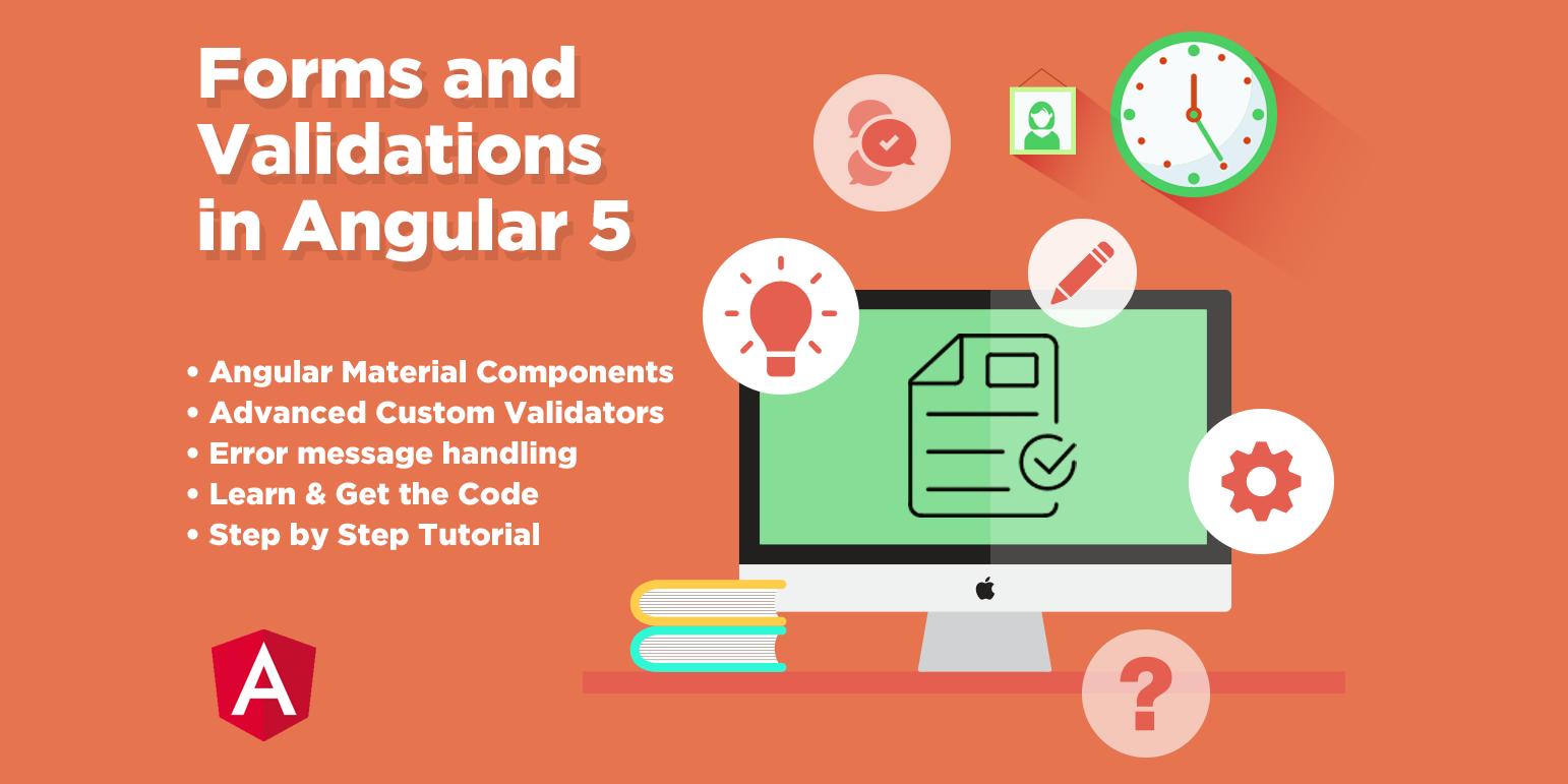 Angular 5 Forms And Validations Angular Templates