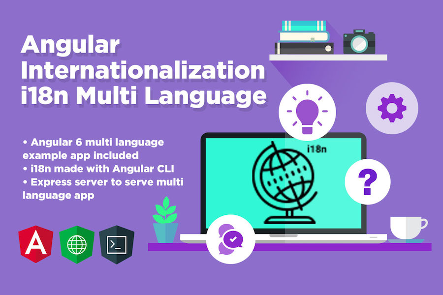 Angular Internationalization - Angular i18n Multi Language