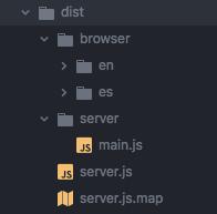 Dist folder structure