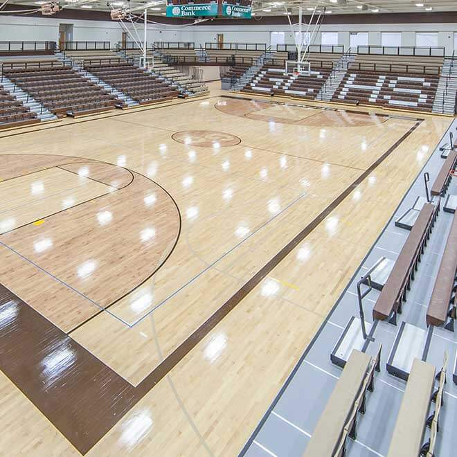 Garden City High School and District Stadium Top Loading Gym