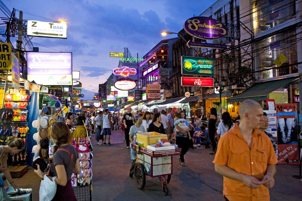 Khao San Road market. Photo: Peter Stuckings/APA