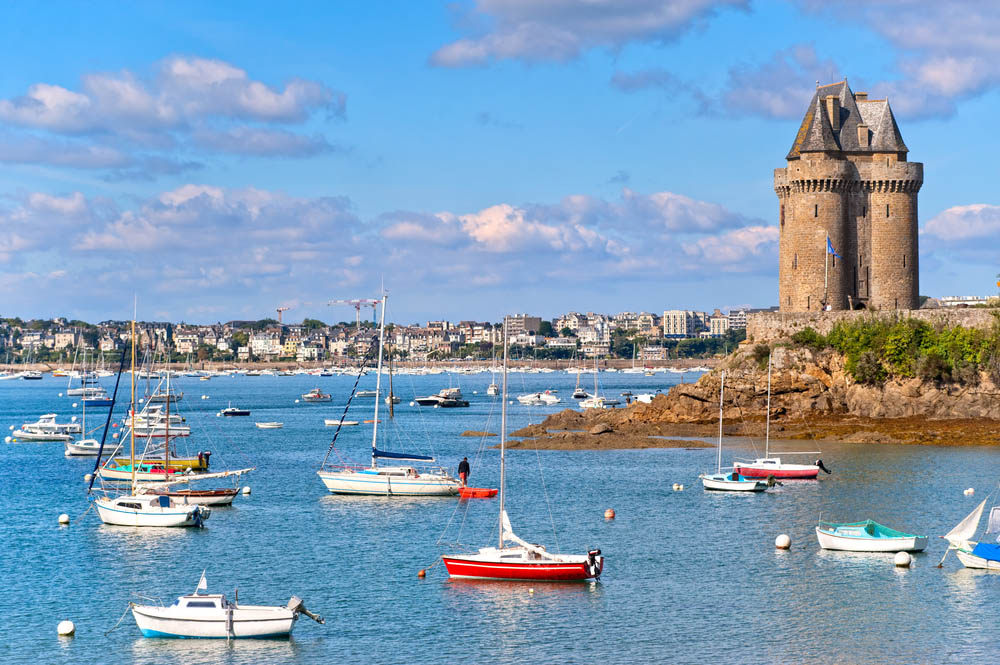 The bay of St-Malo. Photo: Shutterstock