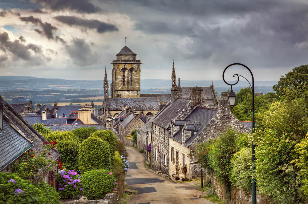 Postcard-perfect Locronan.