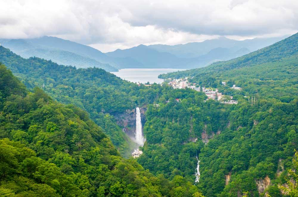 Kegon falls in Japan.