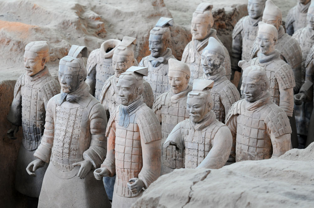 Terracotta army warriors in Xian. Photo: Shutterstock