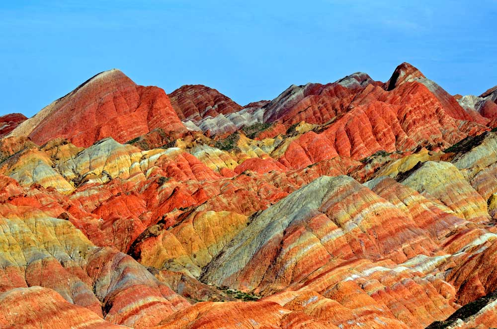 Zhangye Danxia National Geological Park, China