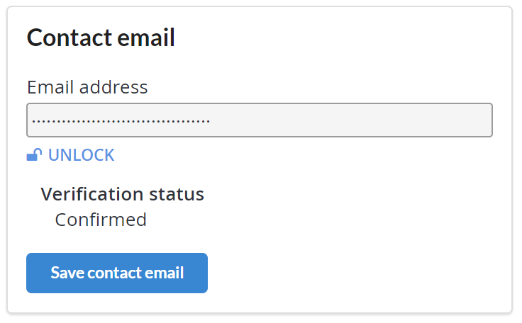 Using a Rule to Verify a Contact Email Address
