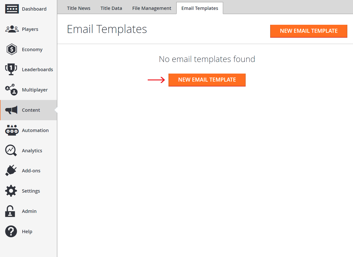 Using Email Templates To Send An Account Recovery Email