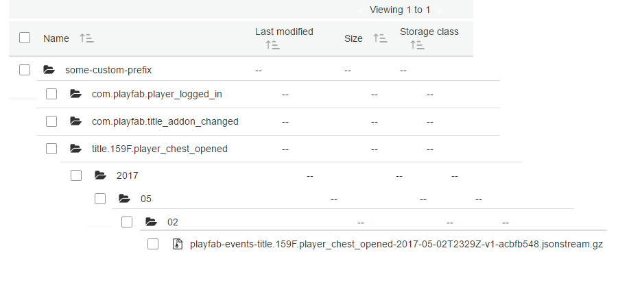 S3 Event Archiving