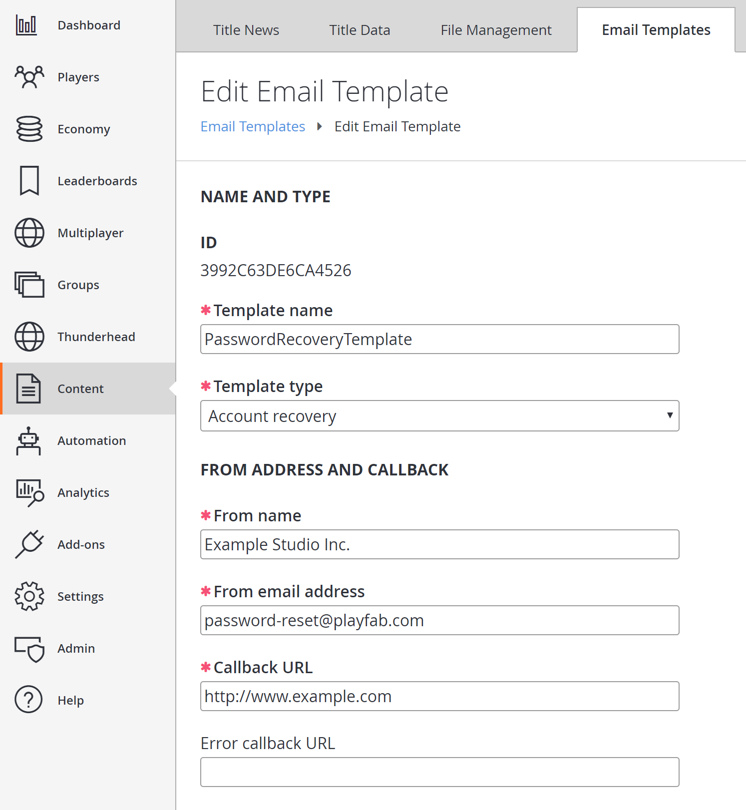 localized email templates