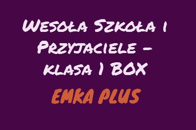 Wesoła Szkoła i Przyjaciele - klasa 1 BOX