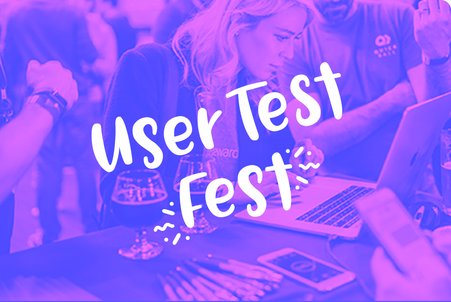 image of useer test fest logo