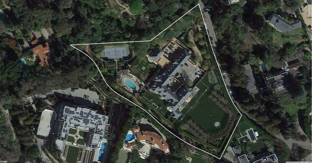 Bel Air Road mega mansion Who is the