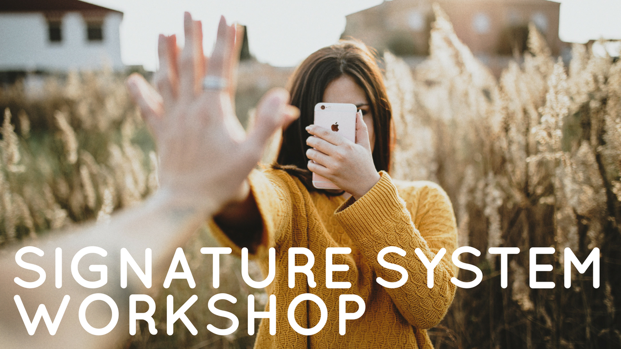 Signature System Workshop