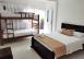 Cama matrimonial con cama Cucheta, Habitación Cuádruple  - Ecohotel Manakin Tayrona by DOT Collection