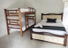 Cama matrimonial con cama Cucheta, Habitación Séxtuple - Ecohotel Manakin Tayrona by DOT Collection