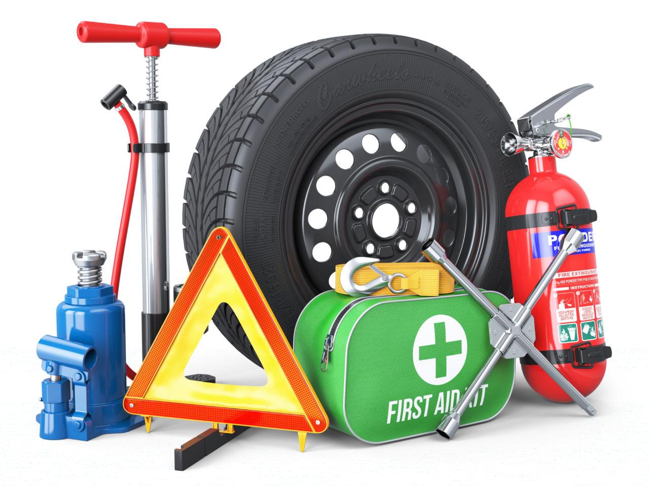Los 10 elementos de seguridad que debes llevar siempre en tu vehículo
