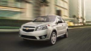 Chevrolet Aveo - Seguro de Auto