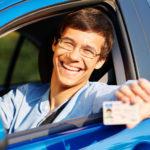 examen de manejo para licencia de conducir