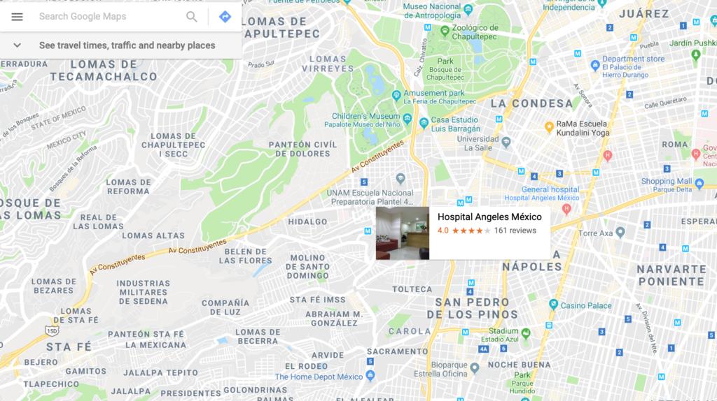 Google maps - apps para conducir