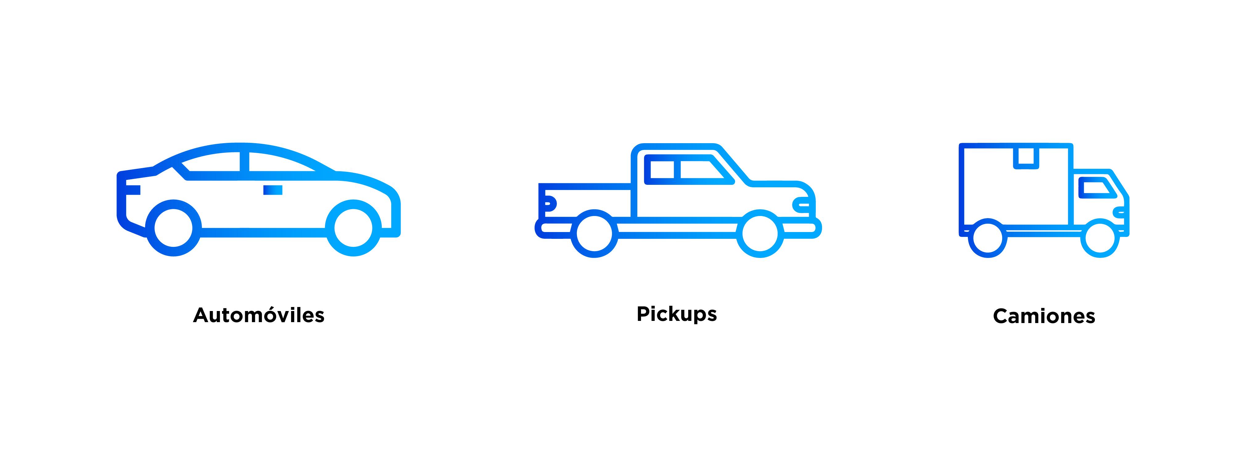 Tipos de coches Chubb
