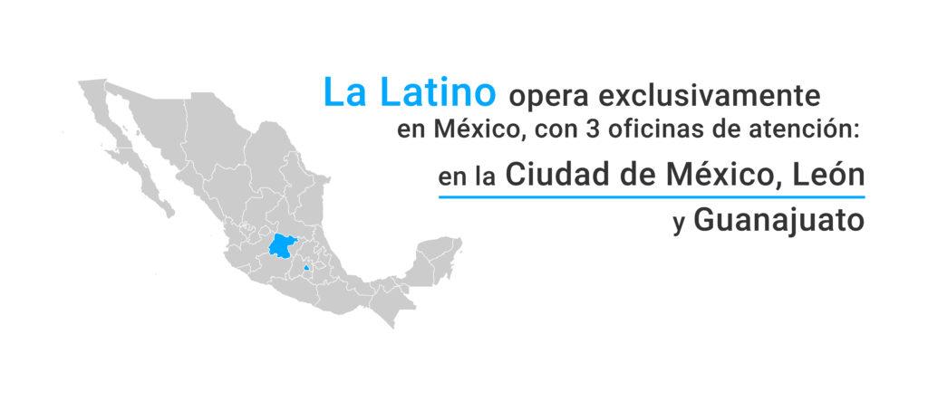 Seguros La Latino opera exclusivamente en México