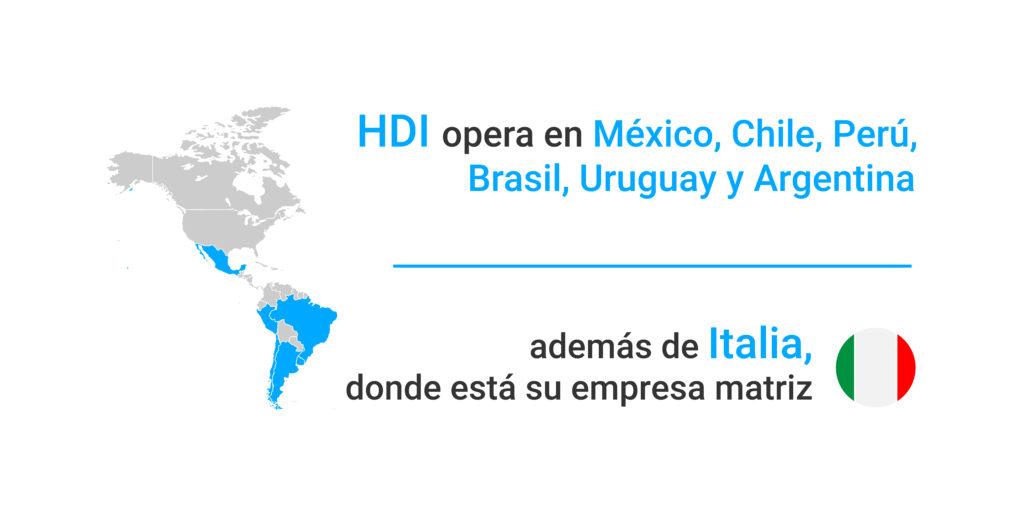 Seguro de autos HDI Seguros en el mundo.