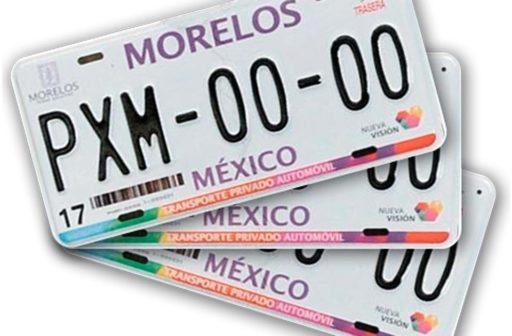 Autos con placas de Morelos tendrán circulación restringida en CDMX