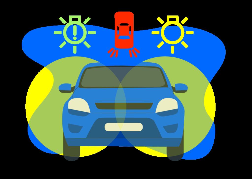 Así te alerta tu coche cuando tus luces están fundidas.