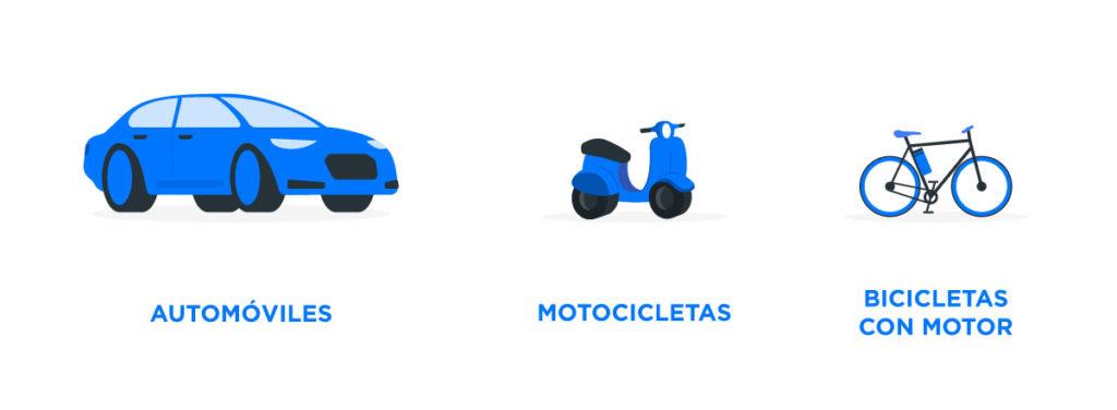Vehículos que requieren seguro de R.C. obligatoriamente