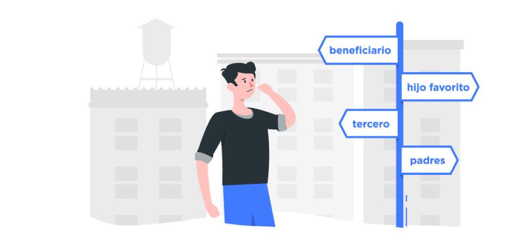 Conoce las diferencias entre beneficiarios de seguro de auto.