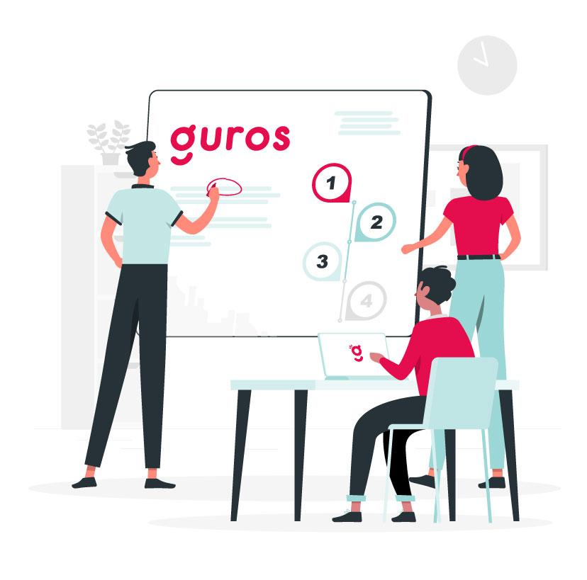 Elige con Guros un producto financiero hecho a la medida, desde la comodidad de tu celular.