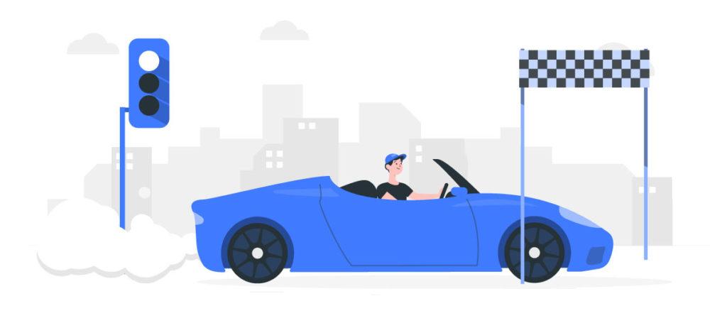 Fíjate en los límites de velocidad que varían dependiendo del tipo de tránsito en vada vialidad.