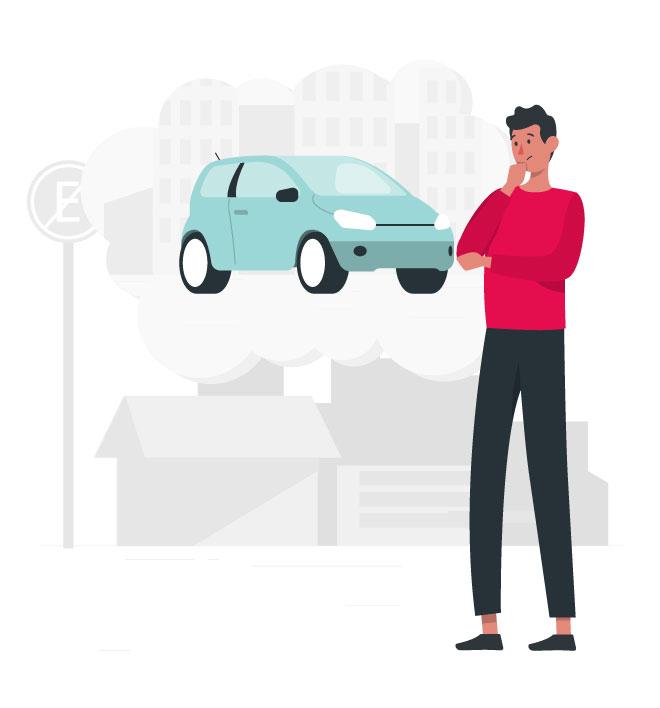 Si estás seguro que tu vehículo fue robado, mantén la calma para recordar todos los datos importantes que necesitarás tener a la mano para reportarlo.