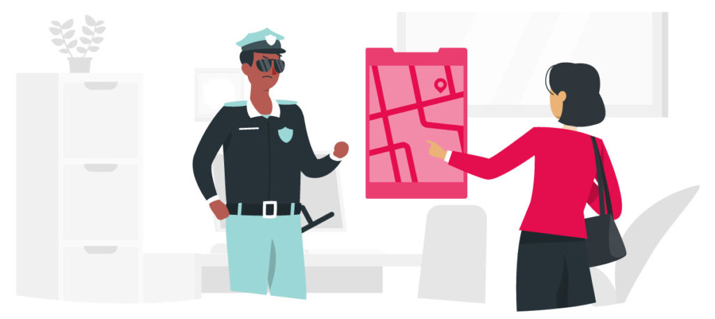 Todo el proceso de denuncia te ayudará para simplificar el trámite de indemnización por robo de vehículo con tu aseguradora.
