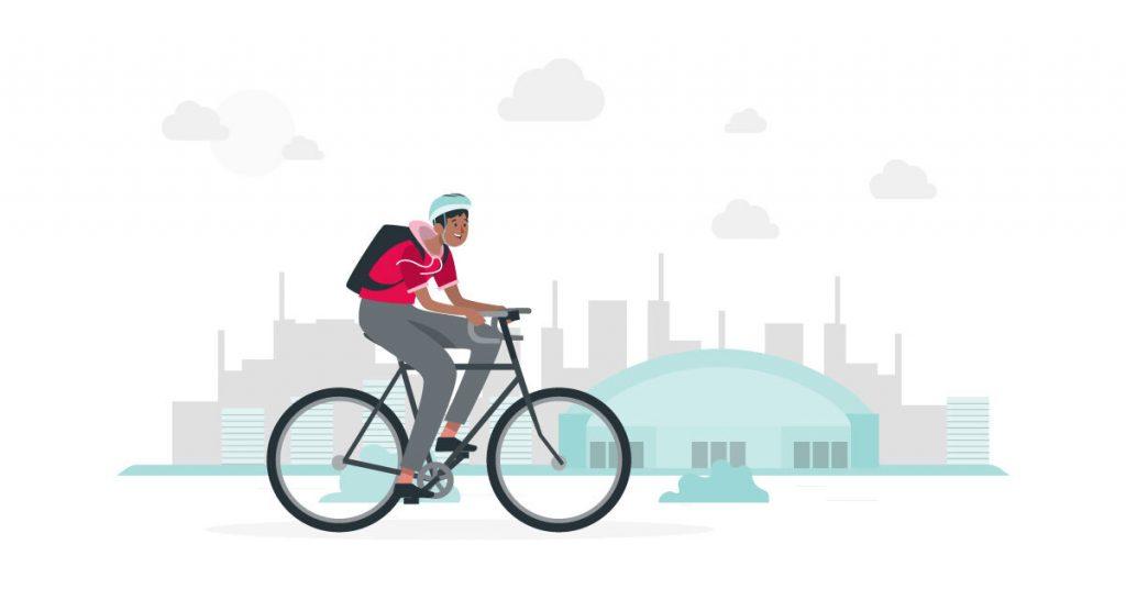 La seguridad para ciclistas en la ciudad también le interesa a los automovilistas.
