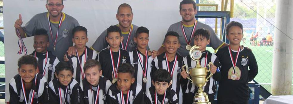 Santos- Limão é campeão na categoria sub 09