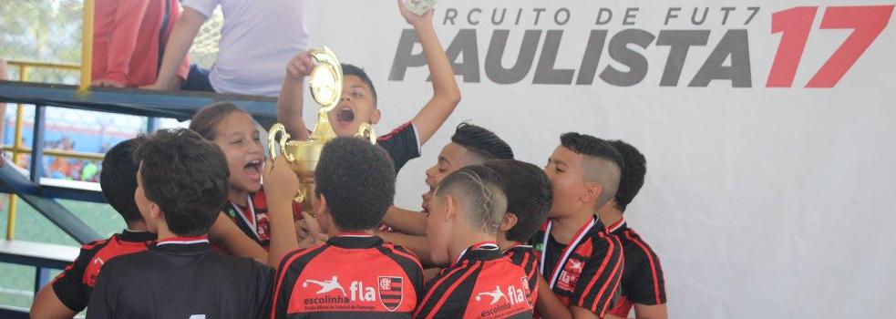 Circuito Paulista de Base Fut7 2017 - Definido os Campeões