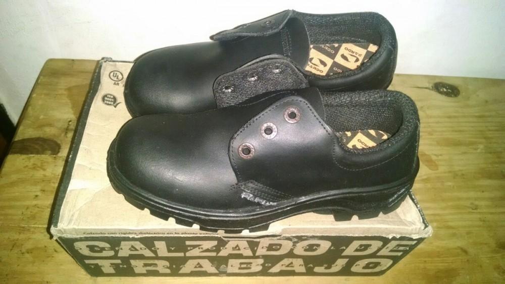 Calzado de Seg. Zapato Pardo - SELLO IRAM - Certificado Homologacion - Talles de 36 al 45 - $760 FINAL - Entrega Sin cargo dentro del Partido de Hurlingham (consultar disponibilidad)