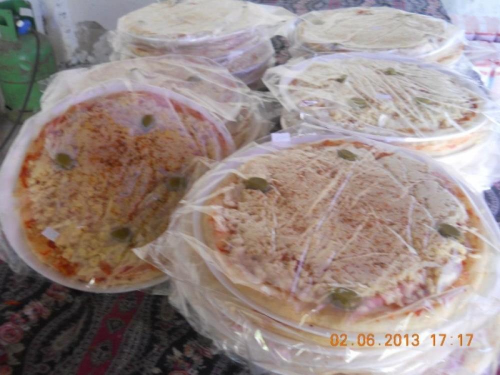 Pizzas pre listas con muzzarella  muy buena calidad