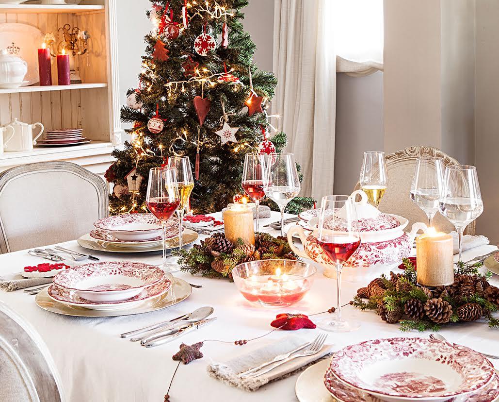La mesa est lista argenprop - Decoracion navidena amazon ...