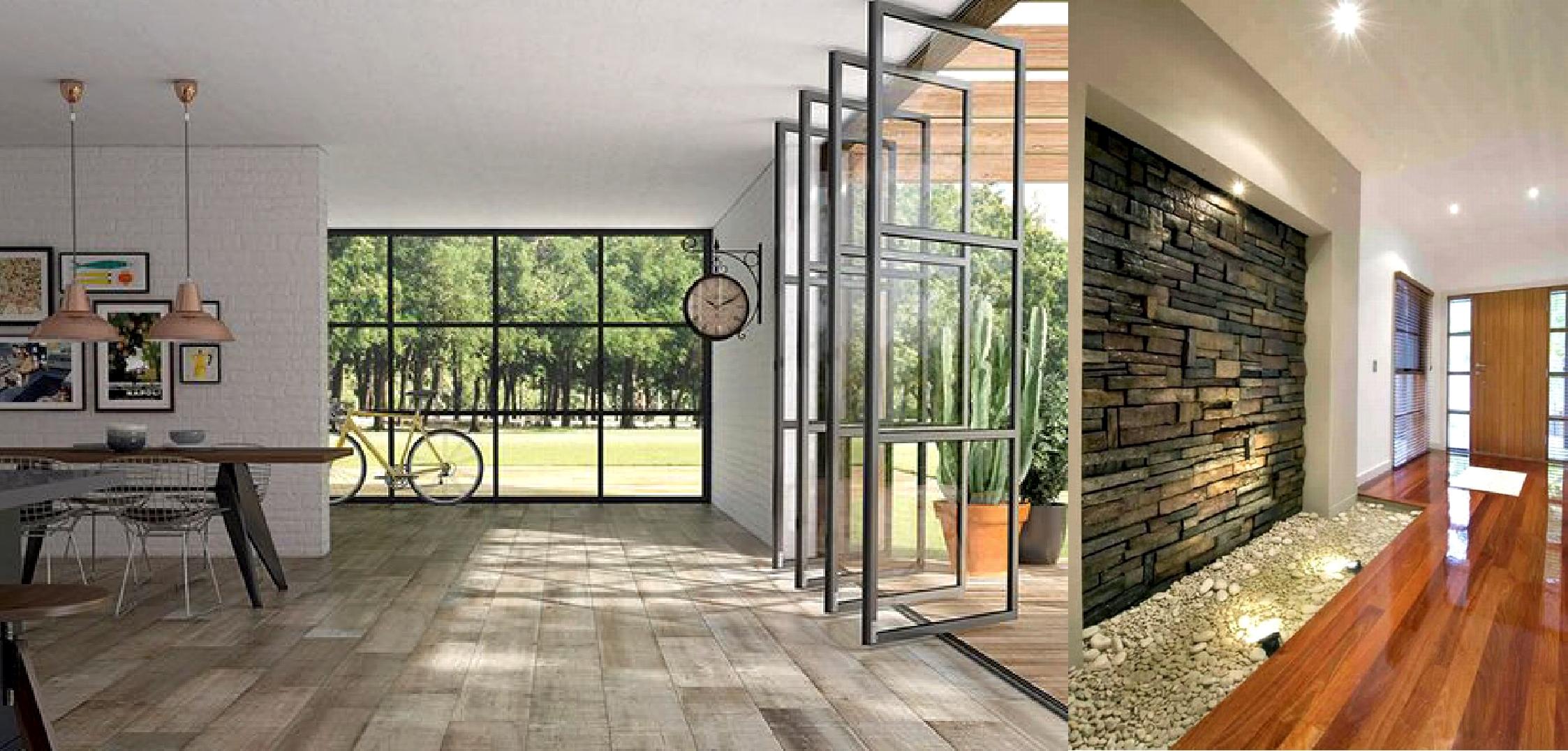 Qu pisos usar para decorar los ambientes argenprop for Ambientes modernos interiores