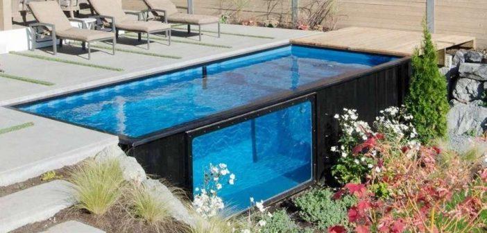 Contenedores piscinas: una nueva moda