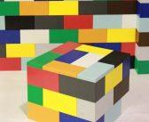 Los ladrillos Legos llegan a la decoración de la casa