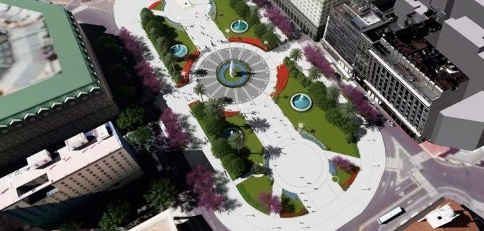 Le agregarán superficie y espacios verdes a la Plaza de Mayo